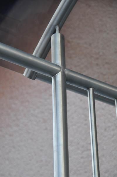 außen treppengeländer metall
